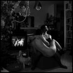 פורטרט עצמי, מתווה לגבר ואישה מס' 9, 1995