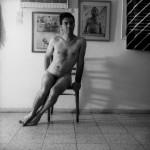 דיוקן עצמי עם ארנולף, 1984, דיפטיכון