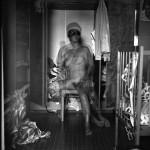 מתווה לגבר ואישה בארון הבגדים, 1986
