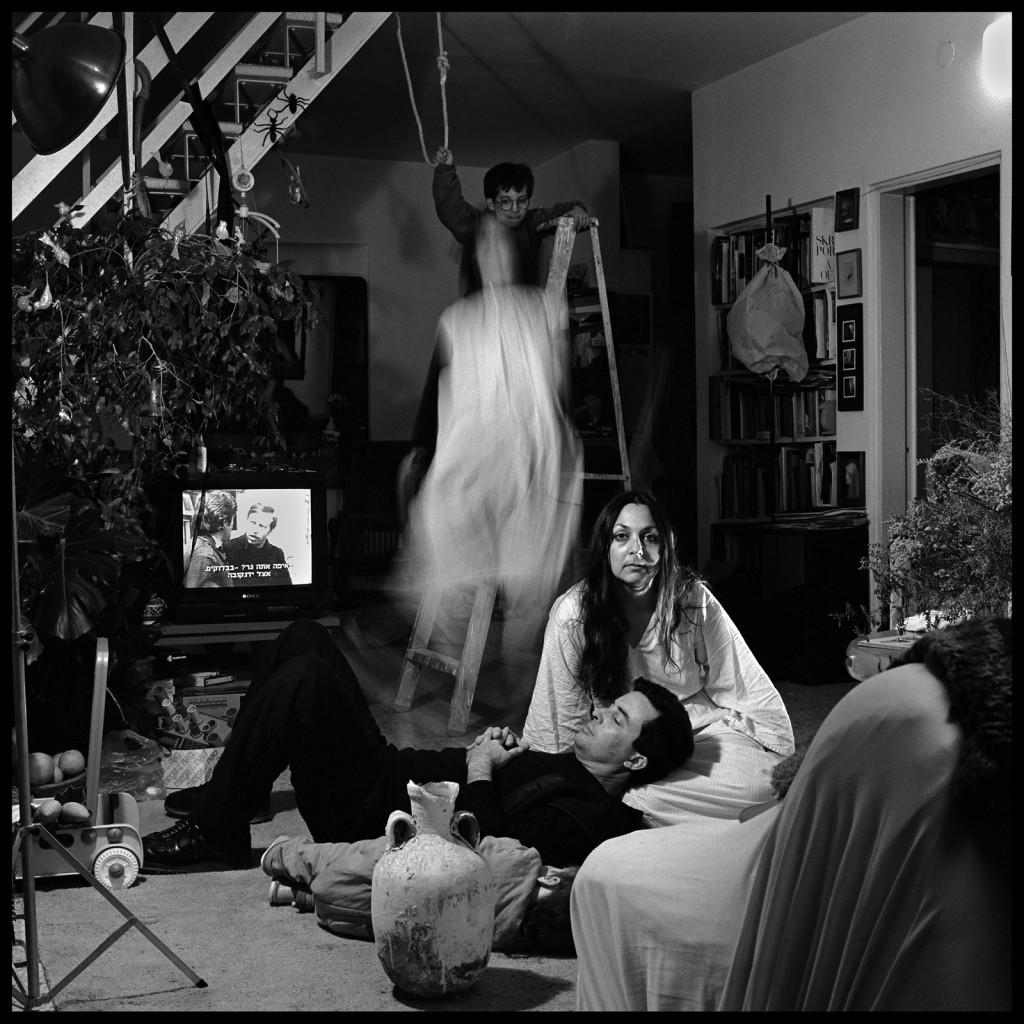 פורטרט עצמי עם המשפחה, חלום יעקב, 1990