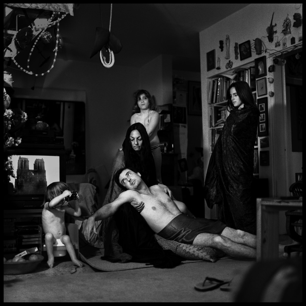 פורטרט עצמי עם המשפחה, פייטה עם נוטר-דאם,1992